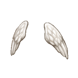 hairacc_51_doublewing_white